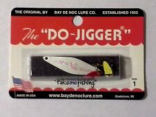 "Bay de Noc Do Jigger- White Ice - #1 - 1 3/4""- 1/6 oz."