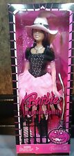Fashion Spell Barbie Doll Witch HALLOWEEN NRFB 2008 Pink Black Costume Boots HTF