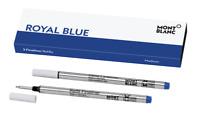 MONTBLANC Royal Blue Medium FINELINER, Pack w/ 2 Refills - BRAND NEW