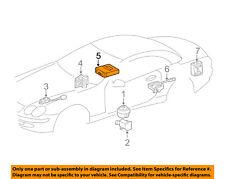 MERCEDES OEM 05-09 SL65 AMG Alarm System-Anti-Theft Sensor 2308700110