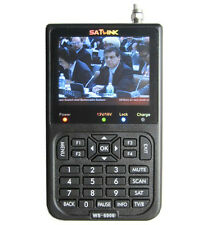 "SATLINK WS-6906 DVB-S Digital 3.5"" FTA Digital Satellite Finder Satellite Meter"