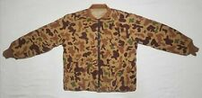 Vintage Bob Allen Ducks Unlimited Reversible Camo Jacket Coat Men's Size Large