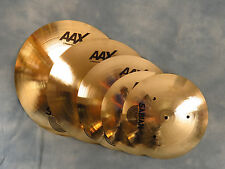 Sabian Box Set 4-Pack of AAX Brilliant Cymbals - Brand New with Warranty!