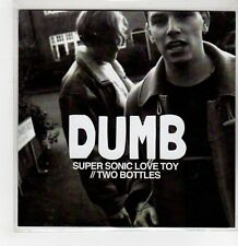 (GI154) Dumb, Super Sonic Love Toy / Two Bottles - DJ CD