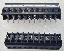999440 LM5.08/135/10BK WEIDMIELLER Wire-To-Board Terminal Block,10 POS, 5-PC LOT