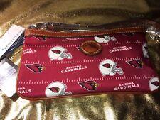 Arizona Cardinals Dooney & Bourke Wristlet NFL Purse Handbag NEW