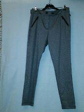 Brand New asda george houndstooth ladies trouser size 14 black/brown/beige