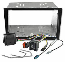 Radioblende Set für OPEL Corsa D Astra H Zafira B Doppel DIN CAN-Bus Adaper