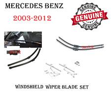 Mercedes Front Windshield Wiper Blade Set For W219 W211 W230 SLR GENUINE