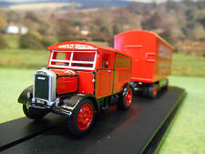OXFORD ARNOLD BROS AMUSEMENTS SCAMMELL SHOWTRAC & BOX TRAILER 1/76 76SST007