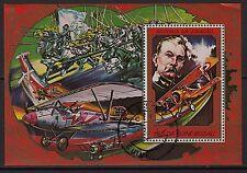 Ga9) Timbre-Stamp-Bloc Oblitére GUINE-BISSAU Historia da aviacao /Aviation