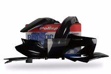 Honda Plastic Kit CR 125 / CR 250 2004 - 2007 Black 90192 Motocross Polisport