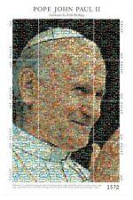Palau - 2000 - pope Photo mosaic - Sheet of Eight - Mnh
