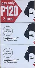 100% Genuine Kojie San Kojic acid Whitening Soap 3 x100G❤️ BUY 2 GET ONE FREE ❤️