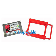 """New 2.5"""" to 3.5"""" Bay SSD HDD Hard Disk Drive Notebook Mounting Brackets Adapter"""