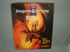D&D Challenger Series Box Set - Wrath Of The Immortals (Very Rare and Complete!)