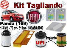 KIT TAGLIANDO OLIO SELENIA WR 5W40 + FILTRI FIAT PANDA 1.3 MTJ DAL 2003 -->