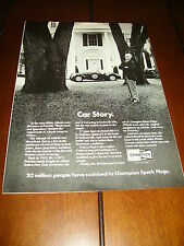 1952 ALLARD SPORTS CAR ***ORIGINAL 1972 AD*** CHAMPION