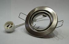 10 x Faretto da incasso Set ferro spazzolato / OPACO incl. 10 GU10 Montatura 230