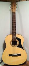 Acoustic Guitar, Great Wood Design on Sides and Back, Model 215