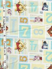 """Winnie the Pooh Peekaboo Hide and Seek Blocks fabric by Springs Creative 24"""""""