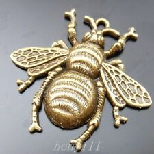 16pcs Vintage Style Bronze Alloy Lovely Bee Pendant Charms Jewelry 39774