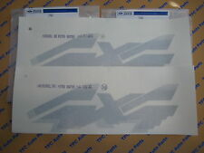 Ford F-150 F-250 F-350 RH or LH Silver 4x4 Bedside Sticker Decal OEM New Set 2