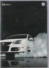 "VOLKSWAGEN 2007 GTI MK V PROMOTIONAL DVD ""MAKE FRIENDS WITH YOUR FAST"""