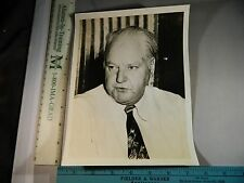 Rare Historical Orig VTG Oil Tycoon Political Activist H. L. Hunt Portrait Photo
