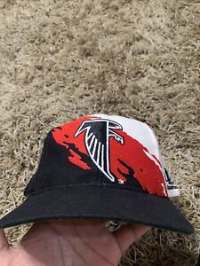 Atlanta Falcons Logo Athletic Splash Vintage Snapback