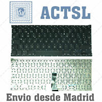 TECLADO ESPAÑOL para portátil Apple Macbook Air A1369 13""