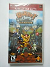 Ratchet & Clank Size Matters - NEW/SEALED Sony PSP Game (US R1) Greatest Hits