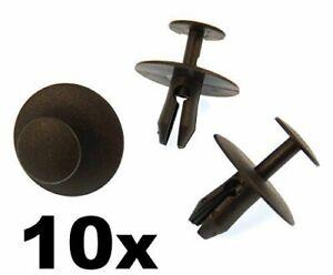PEUGEOT X10CLIPS AGRAFES CAPOT PARE BOUE 6997T2 406 806 307 407 607 308T7 3008