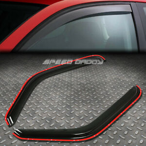 FOR 93-11 RANGER/MAZDA B-CAB SMOKE WINDOW VISOR SHADE/SUN WIND/RAIN DEFLECTOR
