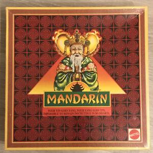 MATTEL 1990 VINTAGE MANDARIN BOARD GAME. COMPLETE