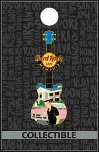 Hard Rock Cafe MEMPHIS 2012 ELVIS Graceland Guitar PIN New on Card - HRC #68591