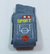 Womens Novelty Denim Basketball Sport Trouser Socks Size 9-11 Stretchy