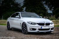 BMW 4 ser F32 F33 F36 P Performance lip for Front Bumper spoiler Valance bodykit