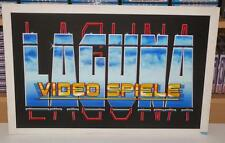 Original Artwork ~ Laguna Video Spiele ~ Bob Wakelin Artwork (Ocean Software)
