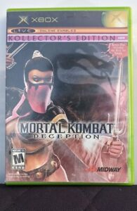 Mortal Kombat: Deception -- Kollector's Edition (Microsoft Xbox, 2004)