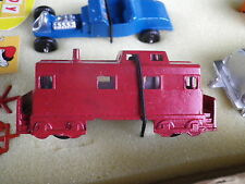 MIDGETOY VINTAGE COLLECTOR WAGON VOYAGEUR rouge comme neuf issue du coffret n°1