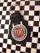 Classic Fiat Rosette Keyring - 500 126 128 600 850 1500 131 132 127