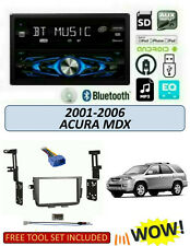 Fits 2001-2006 ACURA MDX Stereo Kit, DUAL DXDM228BT CD Digital Media Receiver