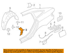 BMW OEM 14-16 328i GT xDrive-Quarter Panel Lower Plate Right 41217334036