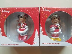🎄🎆Christmas Ornaments Disney mickey and minnie mouse licensed