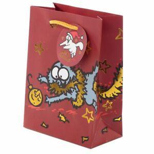 Christmas 2020 Simon's Cat Gift Bag - Medium Present 23x17cm