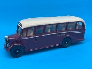 c1980 Corgi Toys Bedford type OB Coach Bus Diecast Vehicle Car MIB