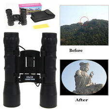 22x32 Dual Focus Binocular Telescope for Tourism Hunting Camping Pocket Size New