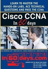 USED (LN) Cisco CCNA in 60 Days by Paul William Browning