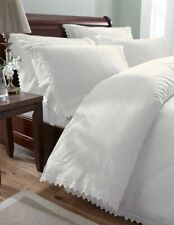 Balmoral, White Broderie Anglaise King